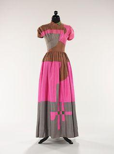 Dinner dress  Gilbert Adrian  (American, Naugatuck, Connecticut 1903–1959 Hollywood, California)  Date:    1948–49  Met