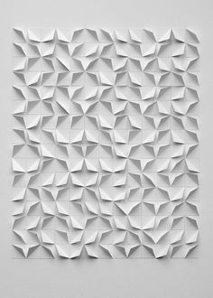 Fine-art-print showing one of my original paper-artworks. Printed on high quality Hahnemuhle paper. Signed and numbered. Origami Wall Art, Origami Lamp, Paper Wall Art, Paper Artwork, Geometric Origami, Geometric Art, Diy Arts And Crafts, Paper Crafts, Foam Crafts