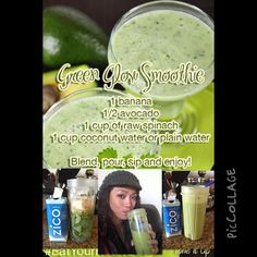 Photo by msmammamia: @ToneItUp #loveyourbody #vsx #tiumeals M4: Green Glow Smoothie minus the banana and w/ @PerfectFit #protein www.perfectfitprotein.com