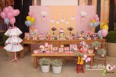 Festa Peppa Pig, Itens Personalizados, Mesa Decorada, Tudo para sua festa!