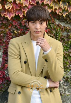 Joo Won, Double Breasted Suit, Suit Jacket, Action, Moon, Suits, Live, My Love, Jackets