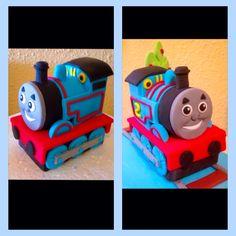 Tutorial modelado tren Thomas fondant