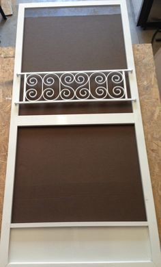 push bar for screen door vintage inspired design aluminum and welded easy install protective decorative custom sizes available