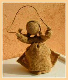 Легенда о Неизвестном Мастере, или Куклёшки из рогожки - Ярмарка Мастеров - ручная работа, handmade