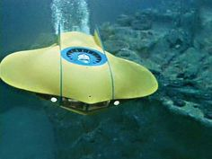 "The Flying Sub from ""Voyage to the Bottom of the Sea"""