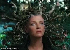 The actress literally loses her head in forthcoming movie Percy Jackson & the Olympians: The Lightning Thief, as she plays mythological Greek monster Medusa. Description from us-winston.com. I searched for this on bing.com/images