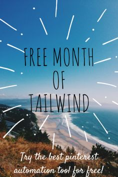 Claim your free month of Tailwind! It's the best tool to get blog traffic. Try Tailwind now for free!