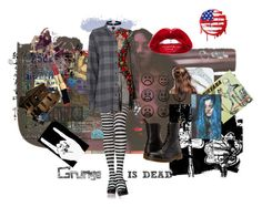 """""""Grunge Is Dead"""" by rivermoonkat ❤ liked on Polyvore featuring Dolce&Gabbana, IRO, Dr. Martens, Cartier and Merida"""