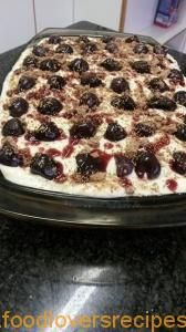 SWARTWOUDPOEDING-TERT Sprinkles, Cherry, Breakfast, Desserts, Food, Morning Coffee, Tailgate Desserts, Deserts, Essen