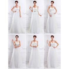 Vestido de Noiva Trapézio/Princesa Cauda Escova ( Tule ) – EUR € 89.99