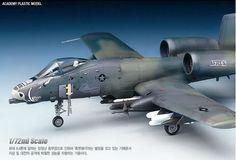 A-10A Thunder Bolt II 1/48 Academy Plastic Model kit