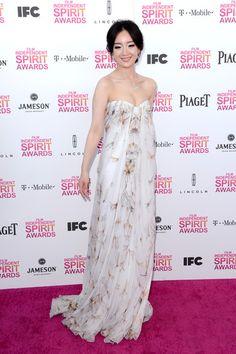 Lemon Zhang at the 2013 Independent Spirit Awards