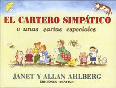 El cartero simpatico (Spanish Edition) by Allan and Janet Ahlberg http://www.amazon.com/dp/8423332322/ref=cm_sw_r_pi_dp_t1qvub00Q0P72