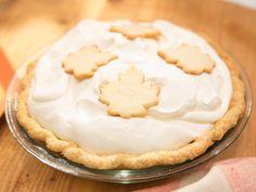 Maple Cream Pie recipe from The Kitchen via Food Network