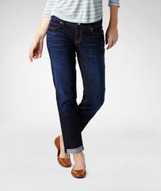 Ultra-casual, roomy and contemporary, these boyfriend jeans are perfect for everyday wear in the summer. They're made with our flattering Mia mid-rise fit, which sits slightly below your natural waistline. The cotton-blend fabric breathes to keep you from overheating and features a hint of stretch for a better fit. Stop by and try on a pair.    Mark's Work Wearhouse, Yorkton