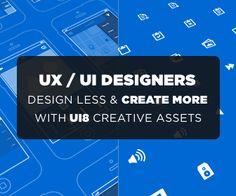 UI8 CREATIVE ASSETS FOR UX & UI DESIGNERS