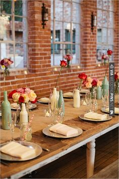 paint bottles for vases | CHECK OUT MORE IDEAS AT WEDDINGPINS.NET | #wedding