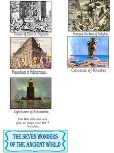 7 Wonders of the Ancient World FREE minibook
