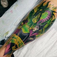 maleficent tattoos -