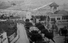 Ladeira da Penha (atual Ladeira Cel. Rodovalho). No canto direito o monumental Palacete Rodovalho - 1920