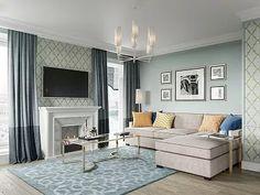 Квартира в стиле американской неоклассики, ЖК «Академ-Парк», 107 кв.м.