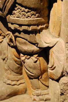 Lokapala, Tang Dynasty, Mountain armor on statue, Shanghai