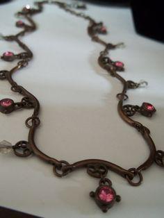 Necklace Anne Klein Necklace Vintage Necklace by SuzyQsVintageShop, $27.75