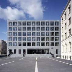 Max Dudler Architekt - Bundesministerium für Verkehr, Bau- und Stadtentwicklung Berlin