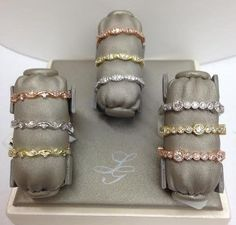 Stackables for your Summer or Fall wedding!