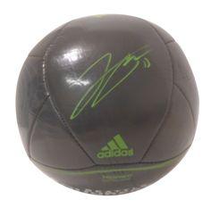 Jordan Morris Autographed Adidas MLS Seattle Sounders FC Logo Soccer Ball, Proof Photo