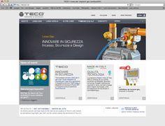 Teco srl | Designed by Videocomp