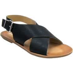 Dirty Laundry Beatbox Vegan Sandals (black)