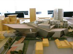 Denver Art Museum Model