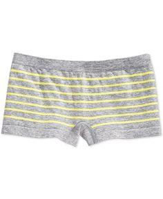 Maidenform Girls' or Little Girls' Striped Minishort Underwear
