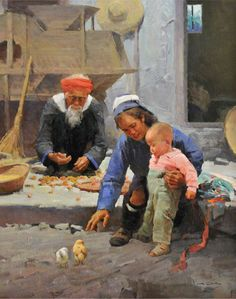 by Mian Situ [司徒绵 was born In 1953 In Canton (now Guangdong) Southern China]