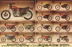 1973 Kawasaki Motorcycles – from A to Z-1