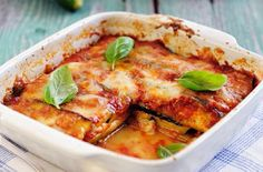This is a great veggie alternative to a classic meat lasagne. Courgettes are so versatile and they soak up flavours wonderfully. By using a mixture of ricotta and cheddar you get a creamy but gooey cheese sauce which is what every good lasagne needs! If you don't have any passata, but have a jar of tomato pasta sauce in the cupboard that will work just as well.