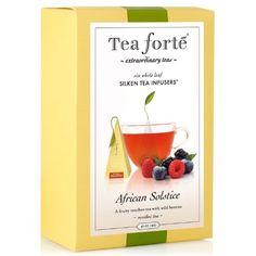 Tea Forte Gourmet Pyramid Box Tea Inf...