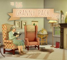 Granny furniture recolor pack