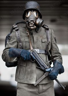 gas mask trooper - Google zoeken