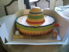Sombrero cake from Cakes By Nicky