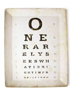 Clever! What a neat gift for an optometrist!