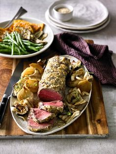 Looking for a delicious and healthy Roast beef fillet with horseradish and mushrooms recipe? Find out all the ingredients, cooking time, techniques and tips on how to perfectly cook your favourite meal from the experts at Australian Beef Roast Fillet Of Beef, Roast Beef, Australian Beef, Mushroom Recipes, Cooking Time, Beef Recipes, Stuffed Mushrooms, Favorite Recipes, Meals