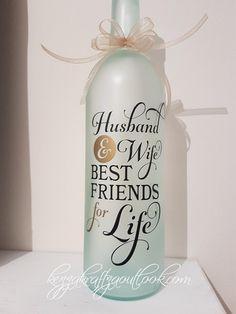 2X CUSTOM TEXT Name Word Sticker Vinyl Decal Bottle Wedding Gift Box Wine Glass