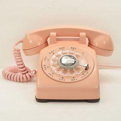American Telephone Store: Pink 500 Desk Phone