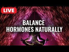 Healing Meditation, Meditation Music, Daily Meditation, Adrenal Fatigue Treatment, Balance Hormones Naturally, Binaural Beats, Brain Waves, Sound Healing, Hormone Balancing