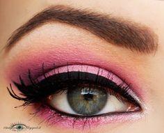 St. Valentine's make-up ^_^