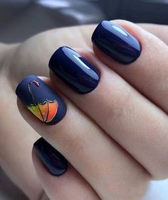 Try some of these designs and give your nails a quick makeover, gallery of unique nail art designs for any season. The best images and creative ideas for your nails. Navy Nail Art, Gold Nail Art, Brown Nail Art, Cute Nail Art Designs, Fall Nail Designs, Nail Art For Girls, Girls Nails, Elegant Nails, Stylish Nails