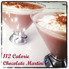 Friday Happy Hour: 112 Calorie Chocolate Martini