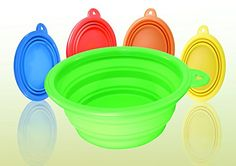 Kavsy™ Collapsible Pet Feeding Bowl Is Also Beneficial For Humans Cute Creatures, Pop Up, Cute Dogs, Pet Supplies, Food And Drink, Pets, Drinks, Tableware, Green